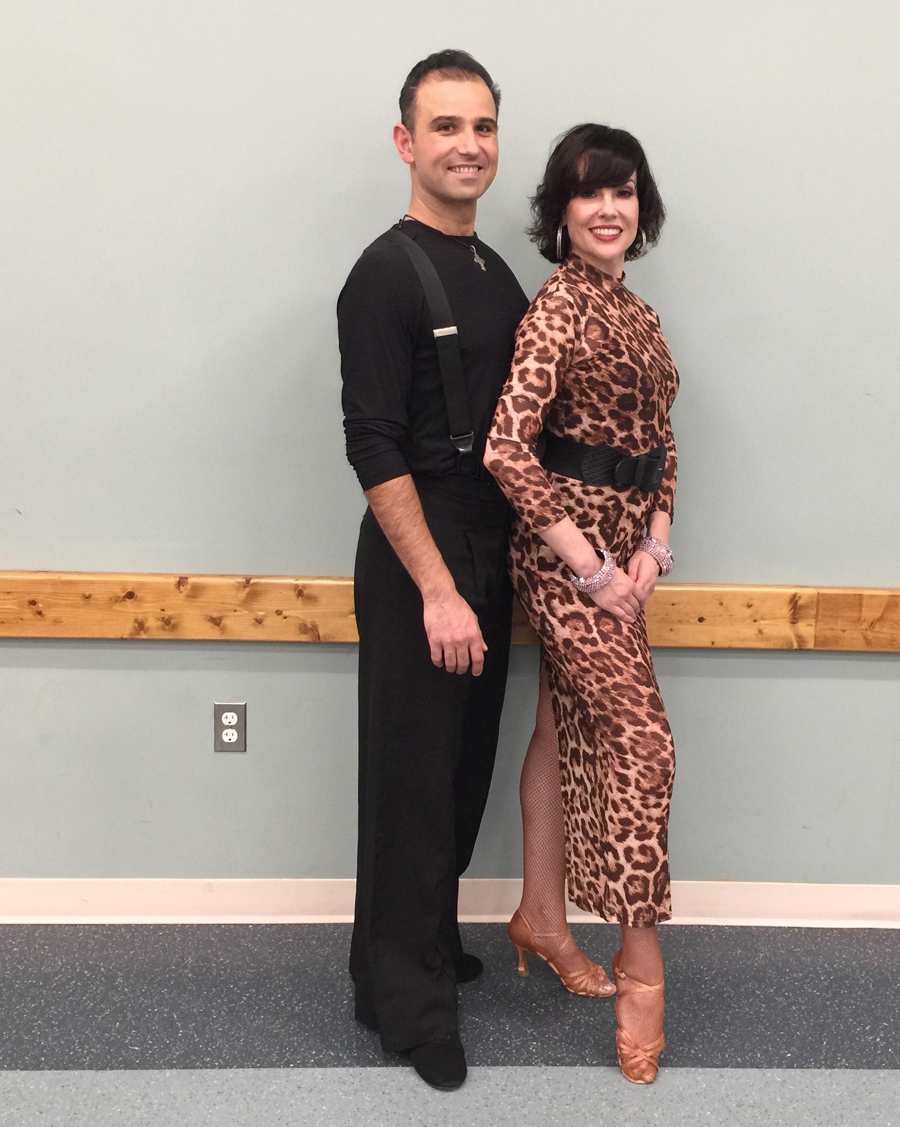 Tania Nunez & Dmitry Savchenko Performed Latin Dances At DanceInTime's Hispanic Heritage Month Shows