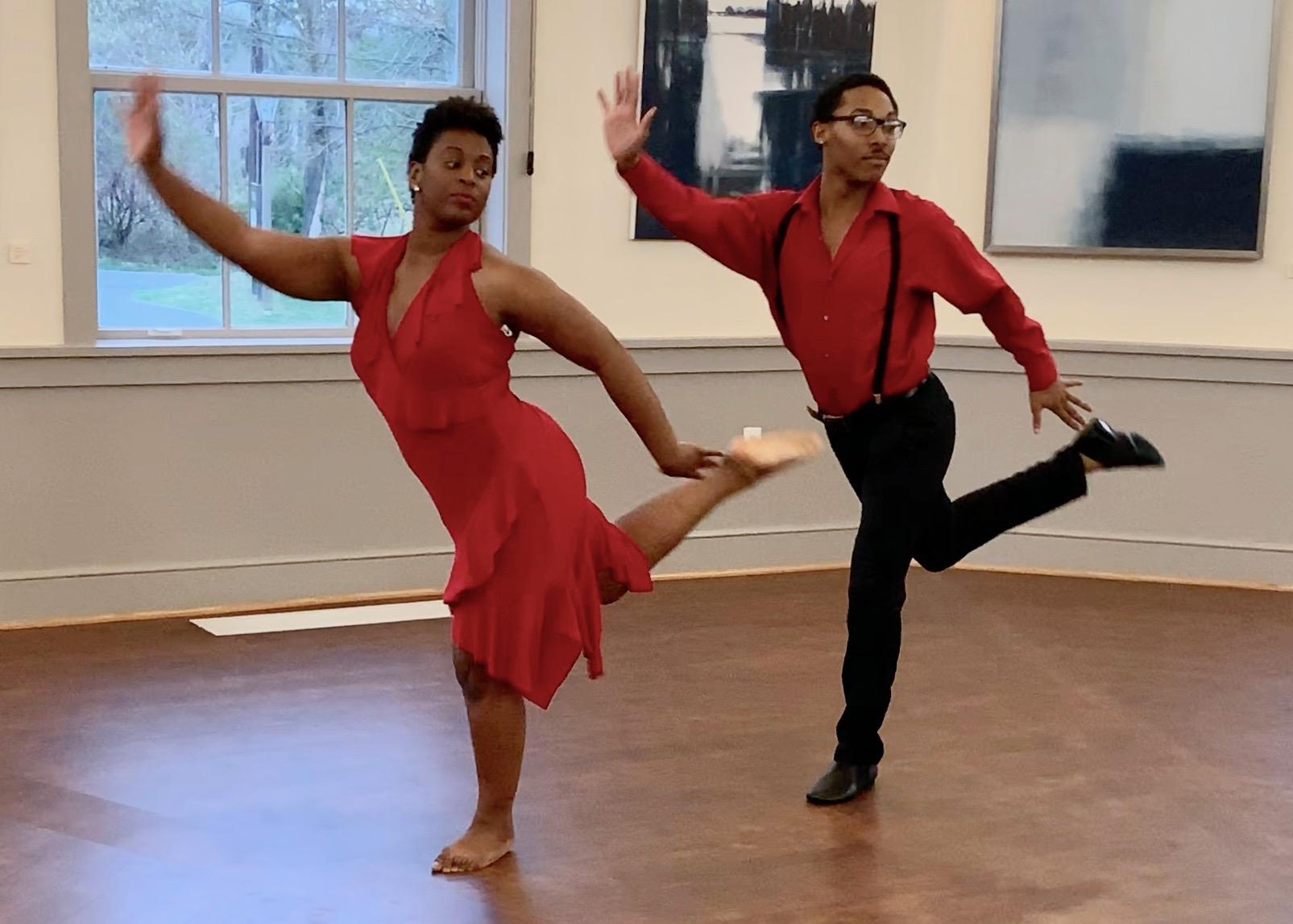 Darius & Juanita at Sandy Spring Museum Show