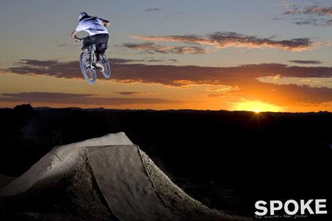 Chris b at sunset