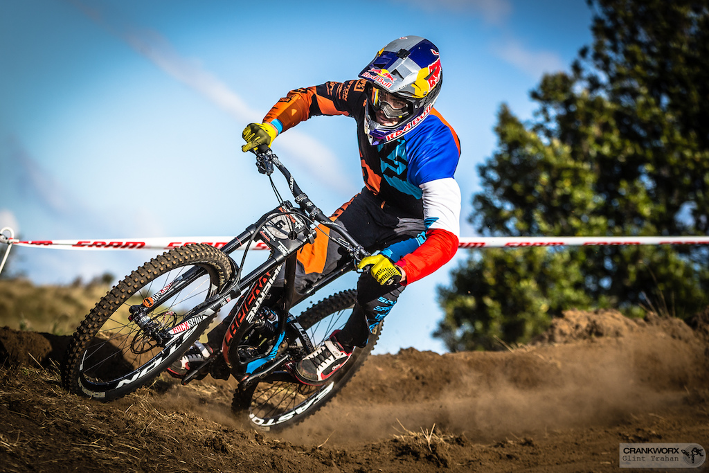 Loic Bruni will be looking for another downhill victory after winning the Crankworx Rotorua Downhill presented by iXS. (Photo: Clint Trahan/Crankworx)