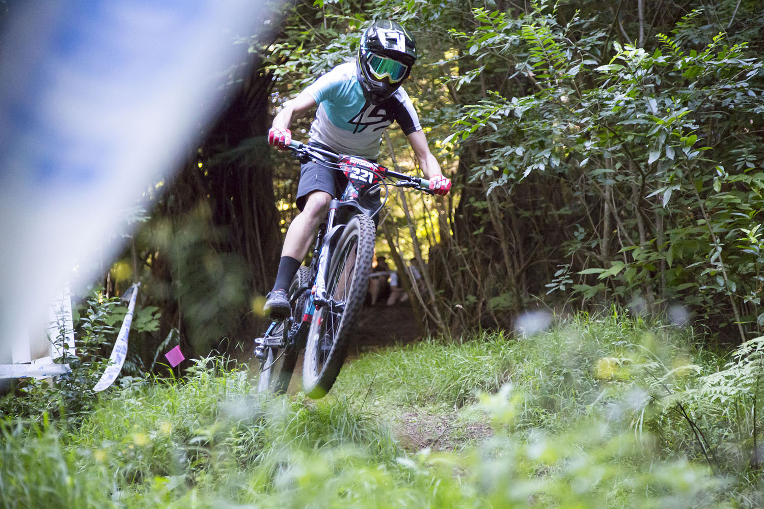 Rae will be hoping to take her Crankworx form to the EWS this winter