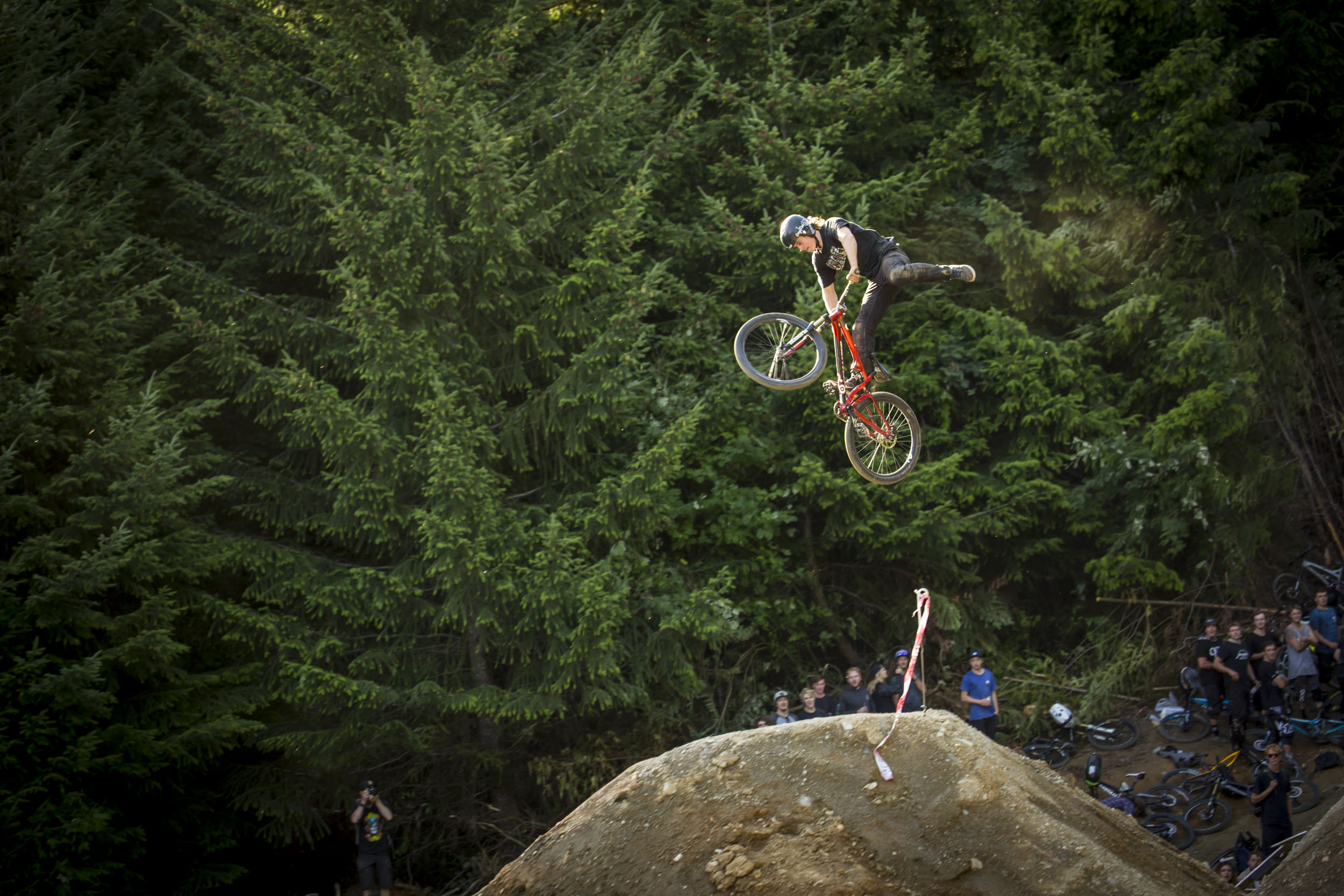 Hardtail pride and tail whips