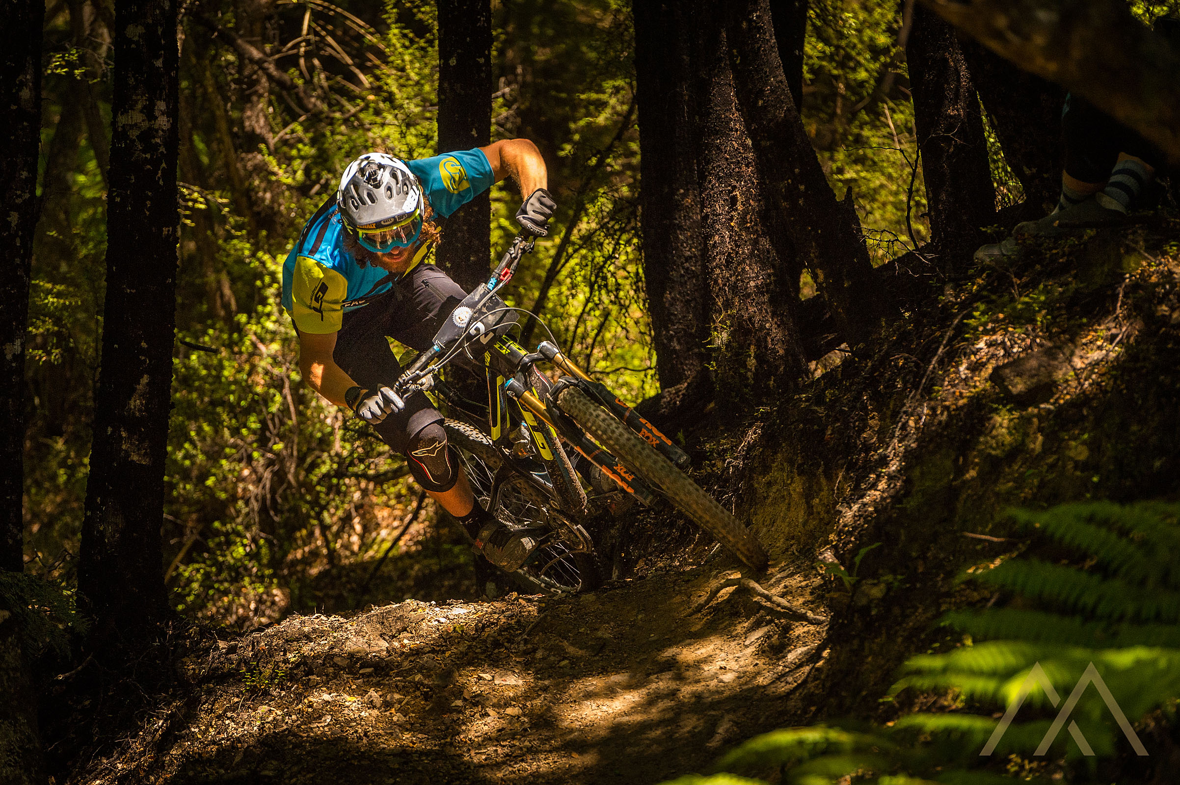 Wyn Masters on the hunt for the podium. Image: Mark Bridgwater