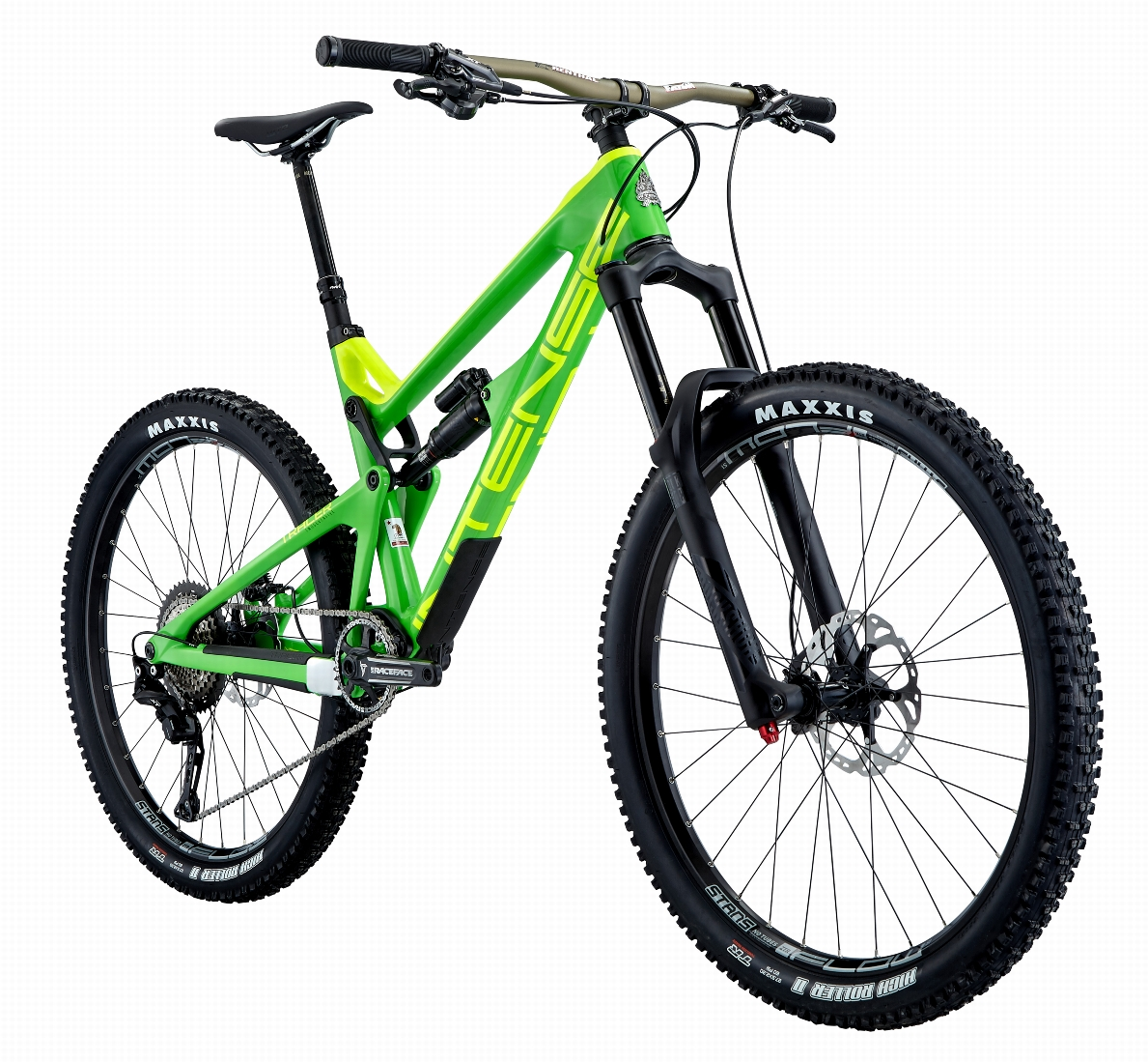 Expert build can be built up onto the green or black frames