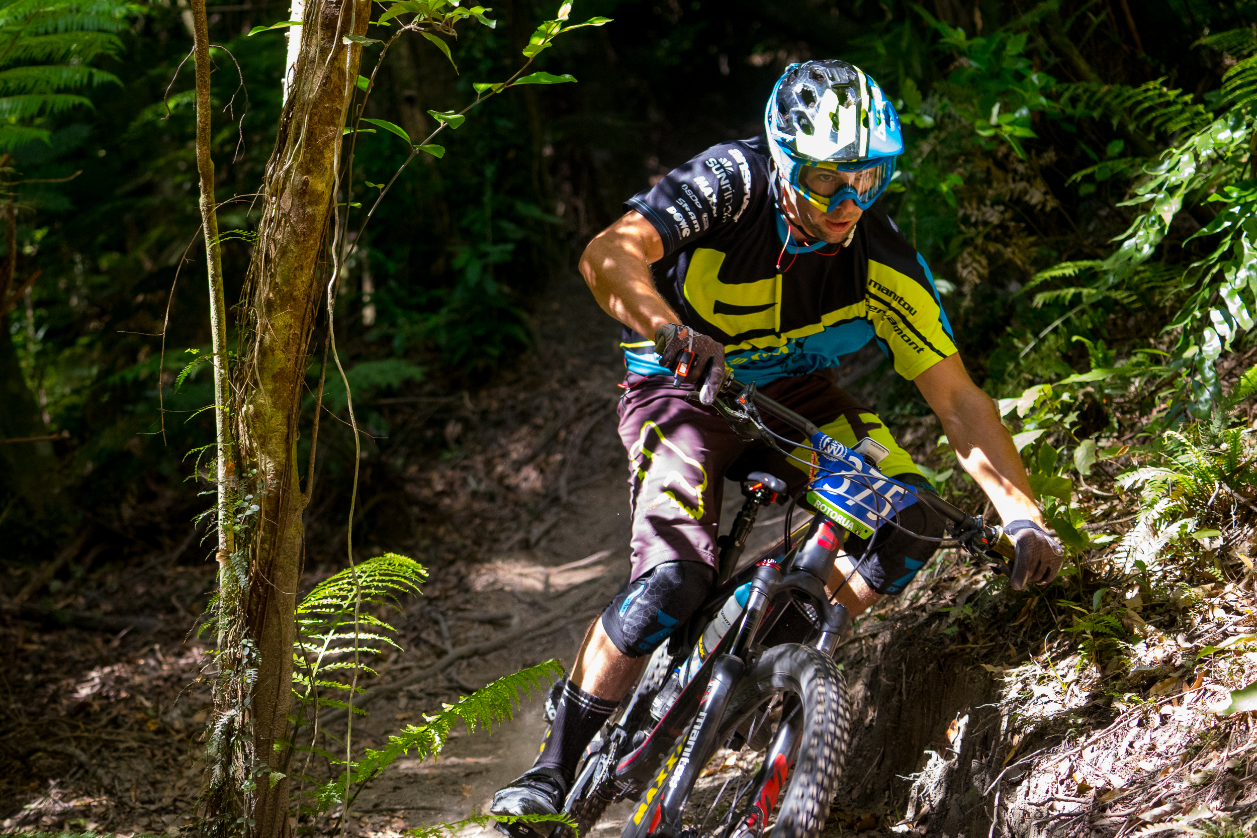 Joe Nation settled for third place today, just 13 seconds behind the leader over six stages