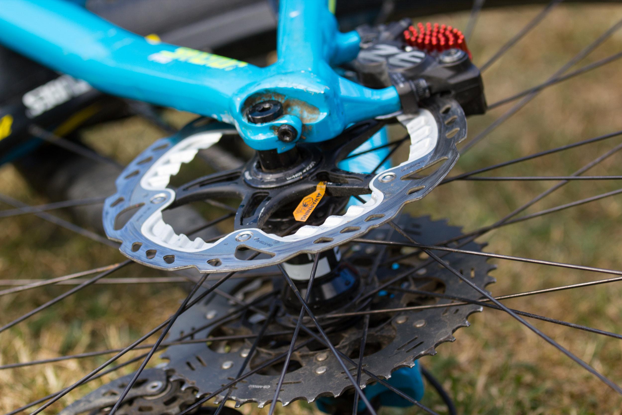 New brake discs?