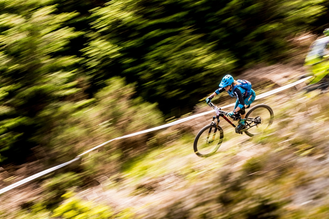 High speed sections in the dry- more fun!