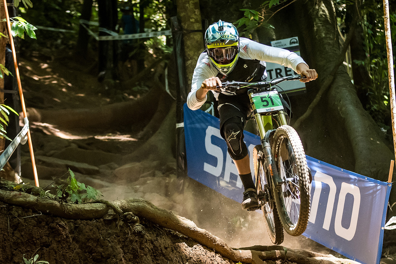 Charlie Makea looked good in seeding but couldn't bring it together on race day