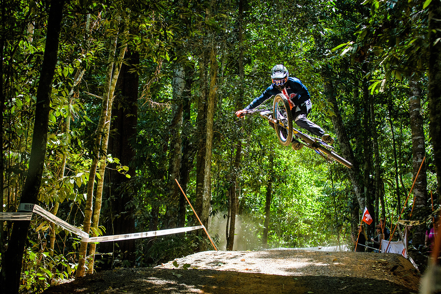 Aaron Gwin bagged himself his first ever World Champs medal