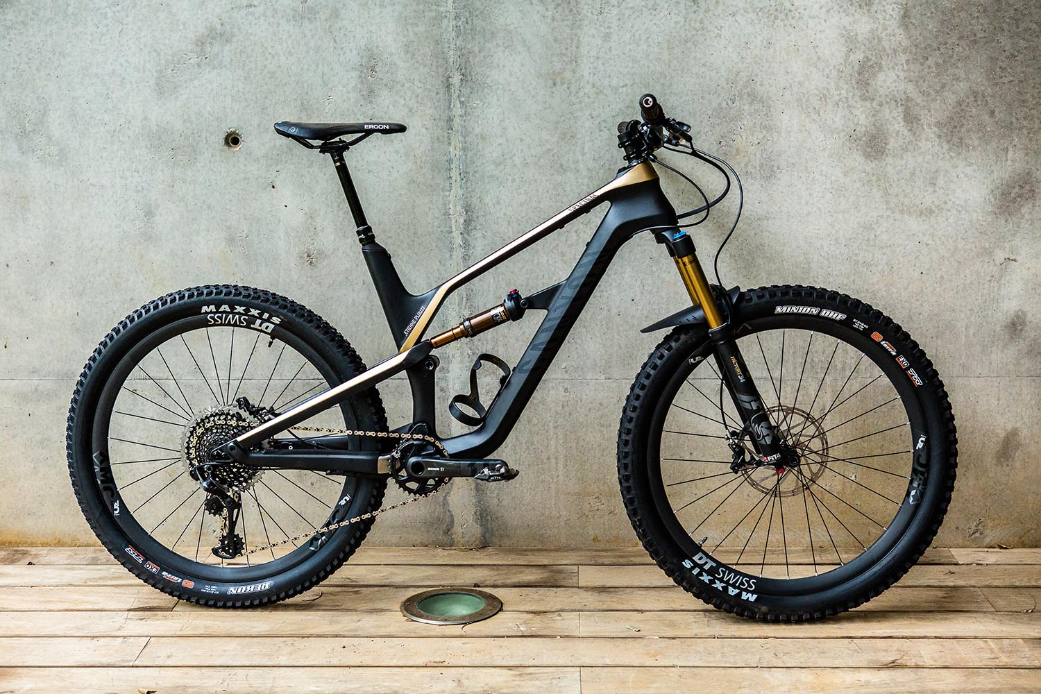 Our test model the Spectral CF 9.0 SL