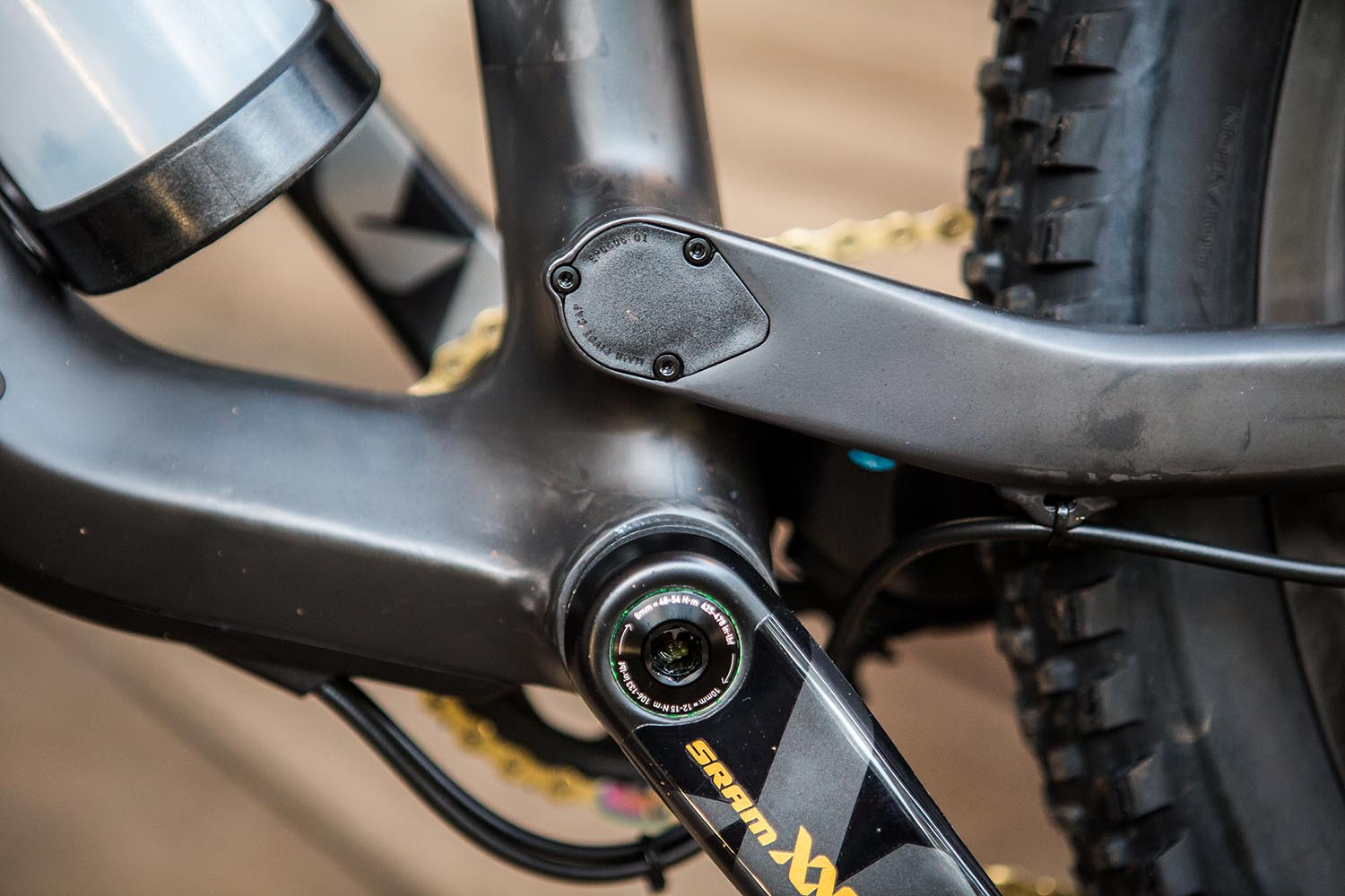 Belt & braces - The fully sealed pivot bearings are further protected by the bolt on cap