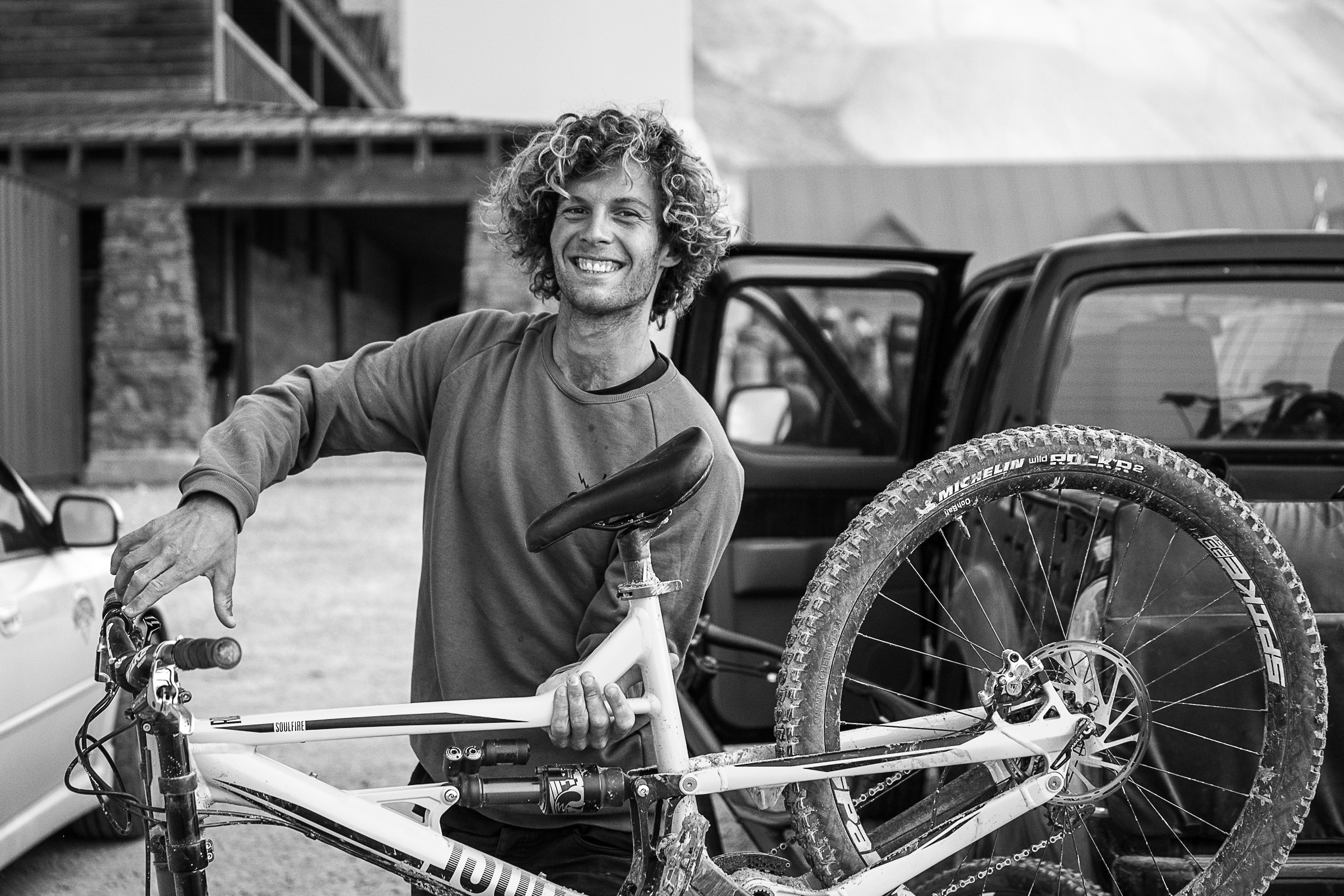 Antoine Bizet making the most of his time in NZ