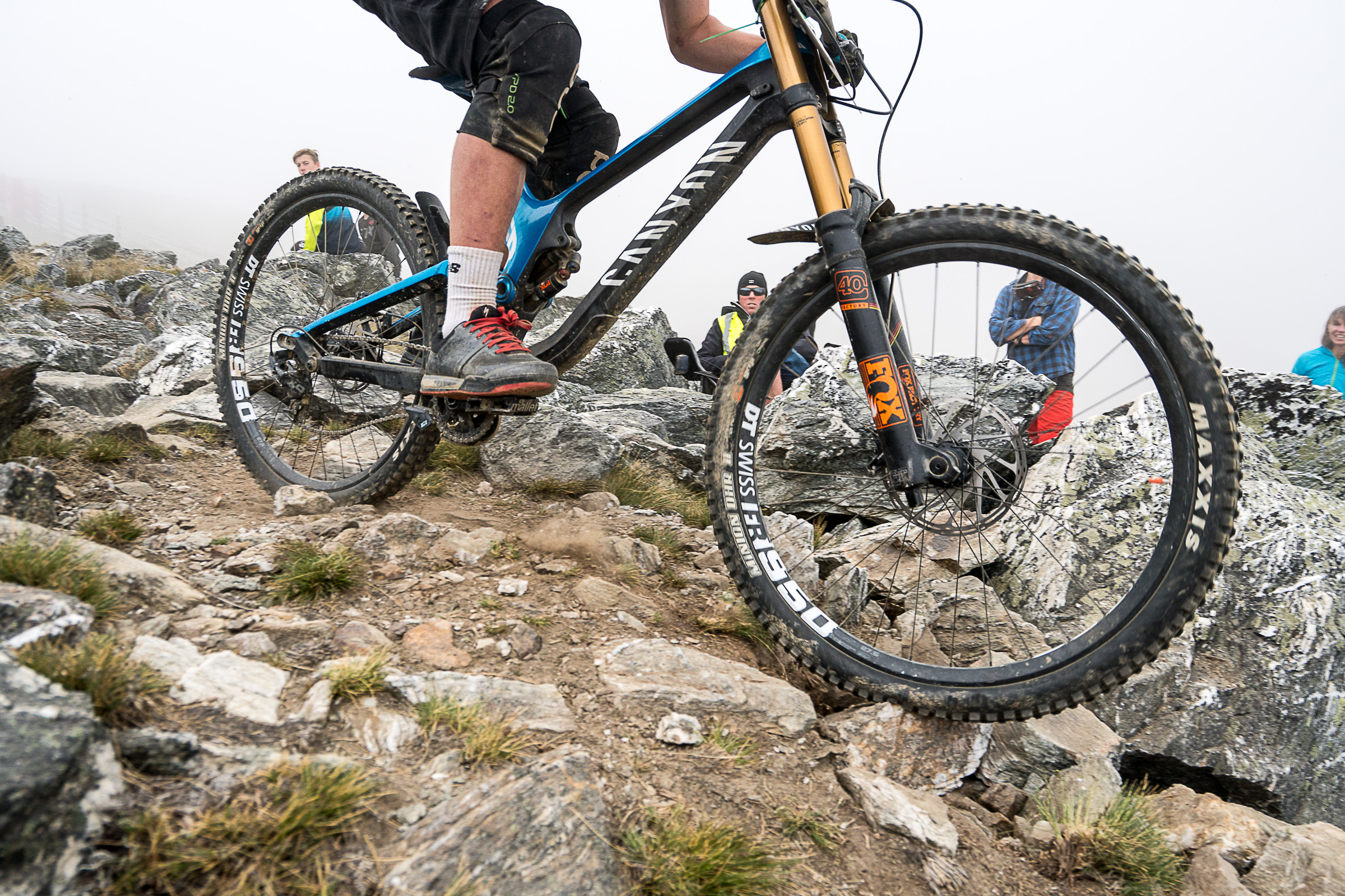 The Rock Garden kept riders on their toes right from the start