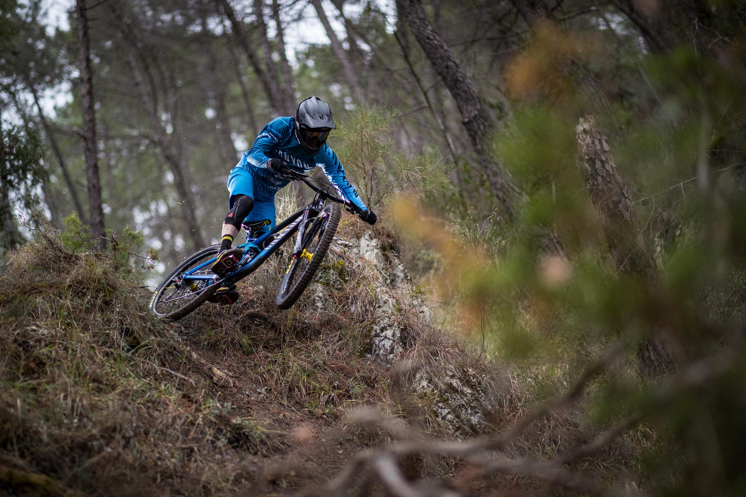 Joe Barnes is back with eyes on the podium. Copyright: Canyon Bicycles Markus Greber
