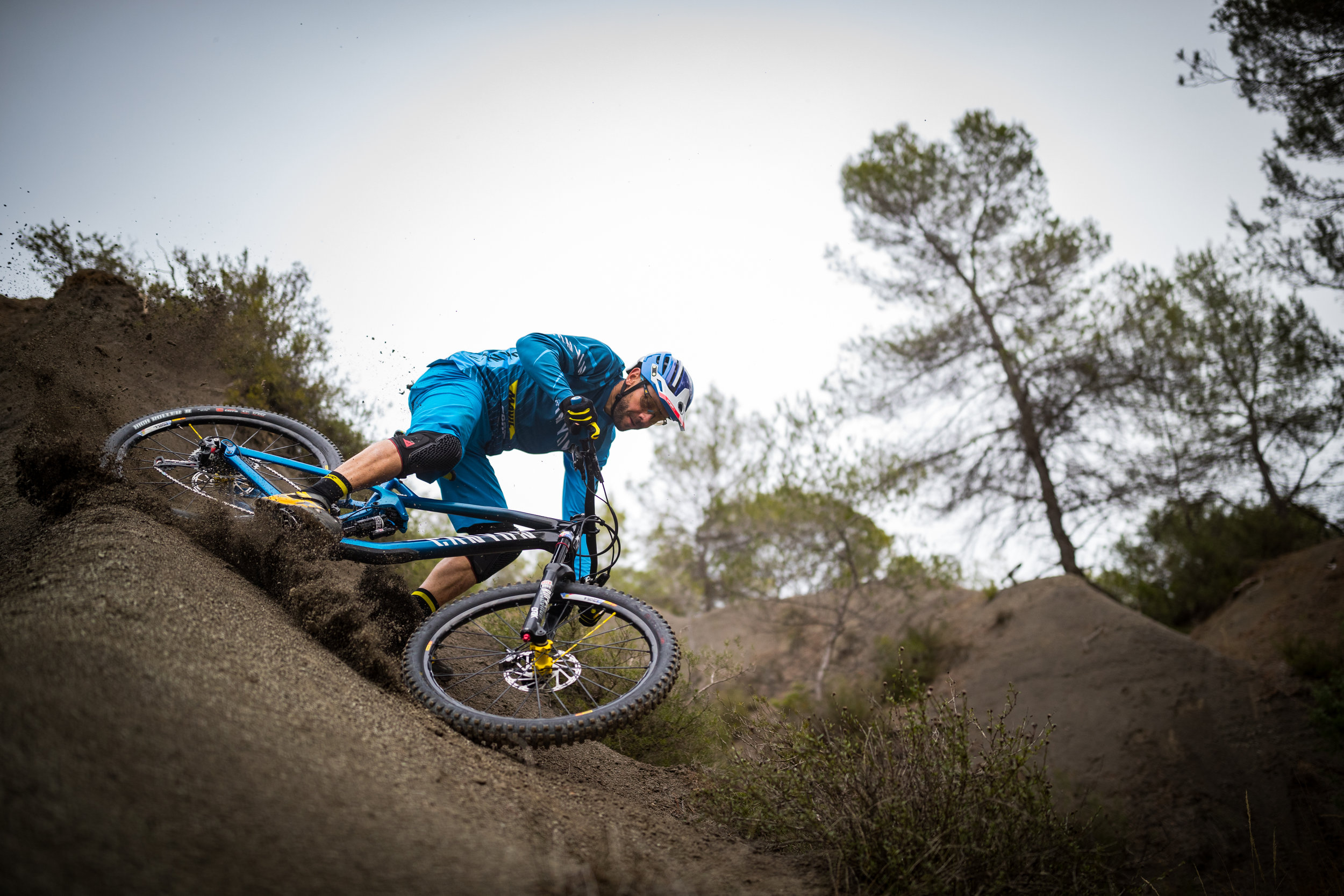 Fabien Barel will lead the program again in 2018. Copyright: Canyon Bicycles Markus Greber