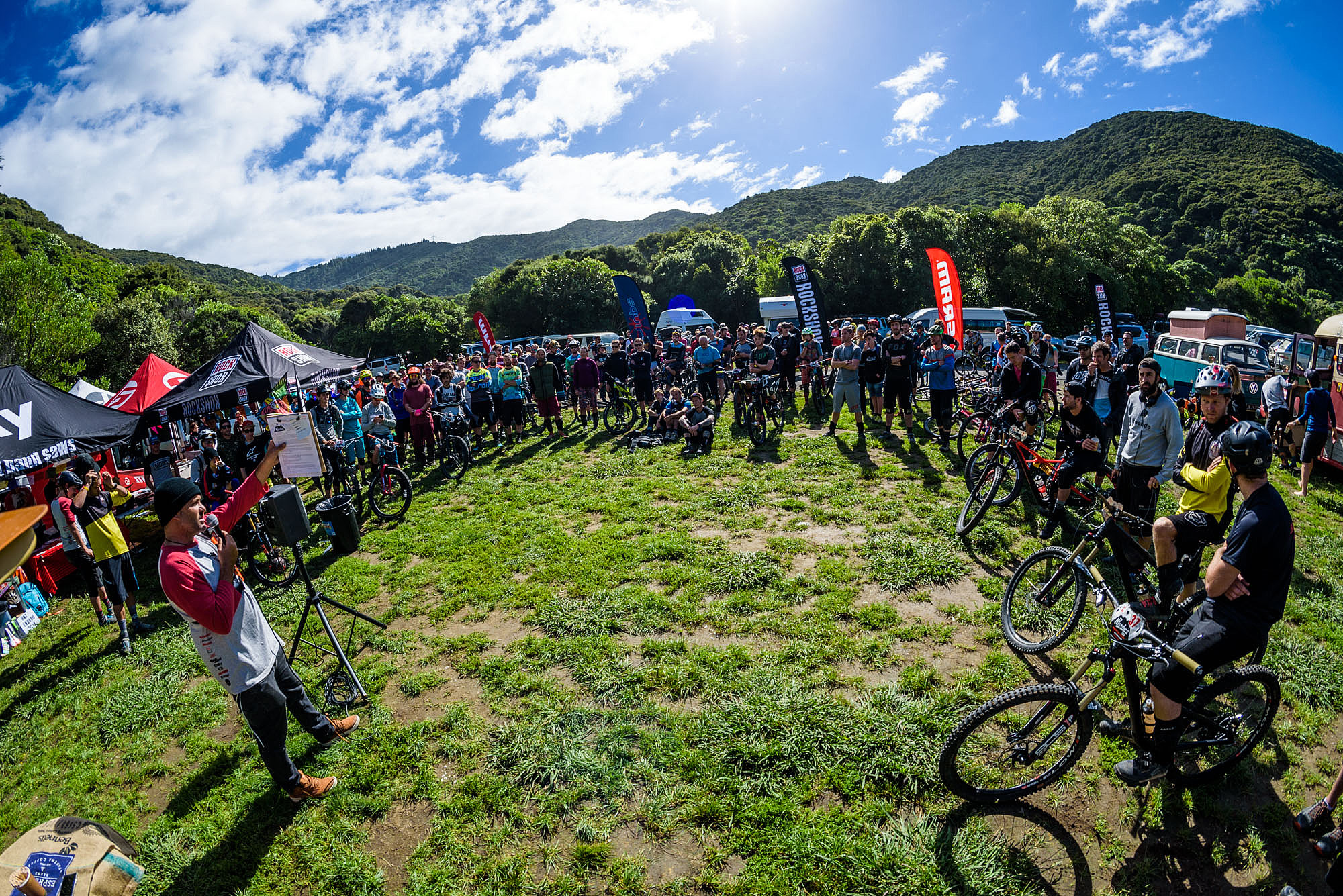 Organisers Sven and Anka Martin have spent their summer pulling together an event that will terrify and delight racers in equal measure.