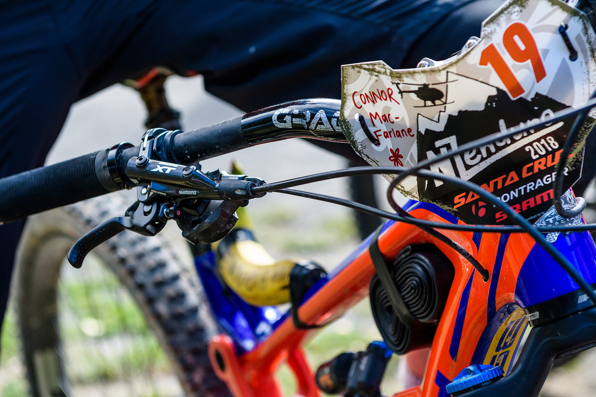 140 riders came from 10 countries to race on the historic trails of the Marlbrough region.