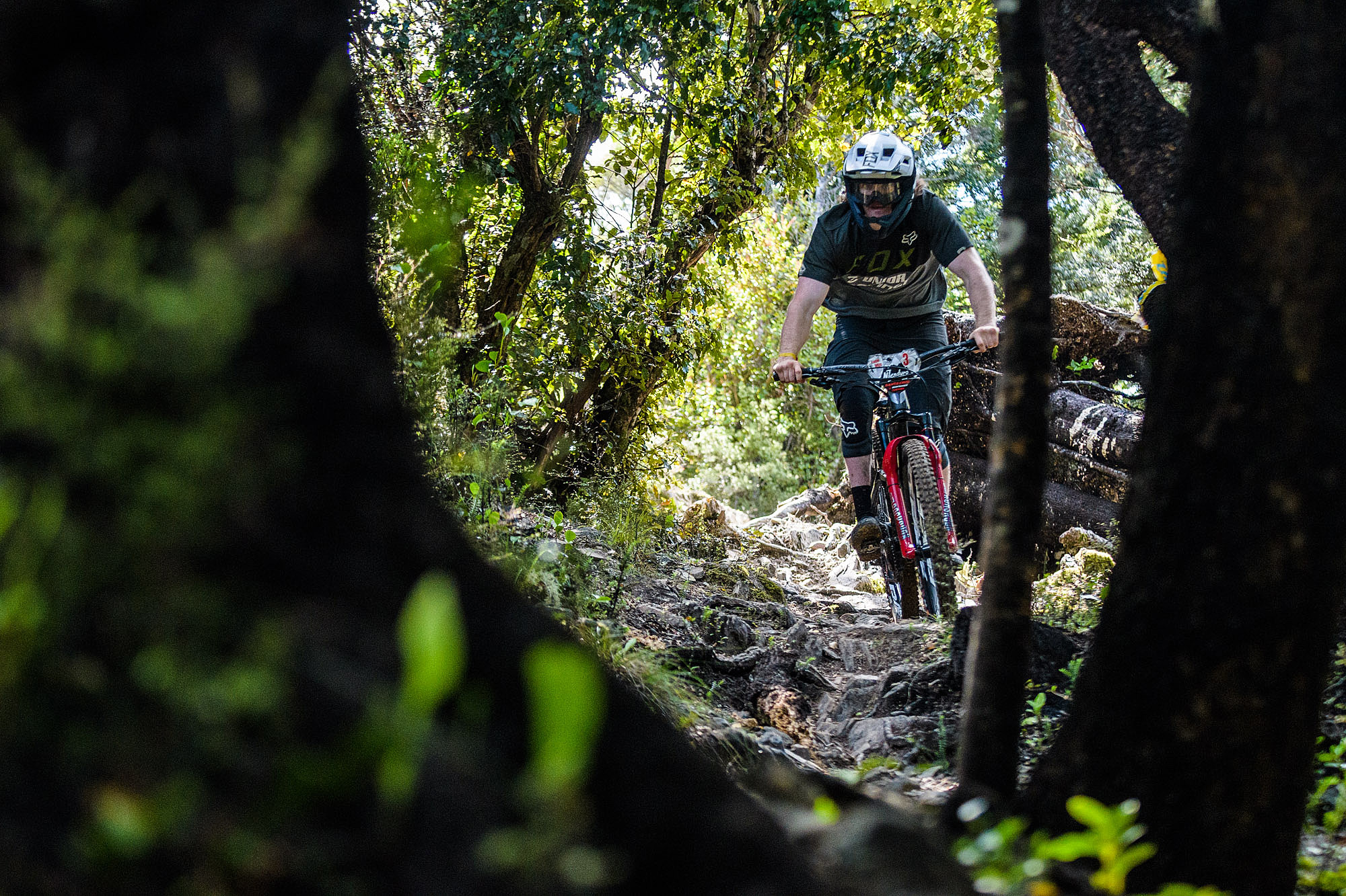 Keegan Wright blazed his way through todays stages to take a 7 second lead.
