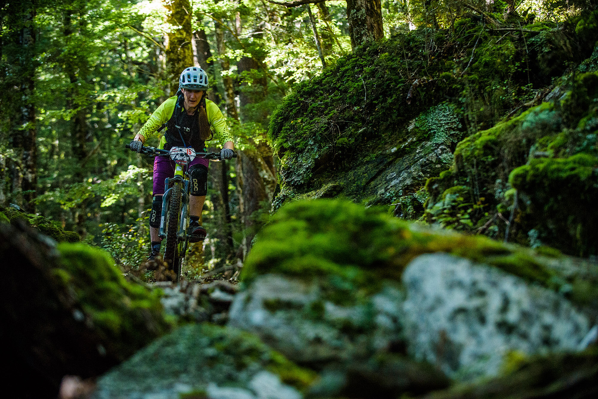 Day three of the NZ Enduro began with a short and sweet Heli trip to Fosters hut at the top of the Wakamarina valley. Stage one began with a minute of un-ridden natural loamy skid line before blasting down the old gold miners trail to the creek bed.