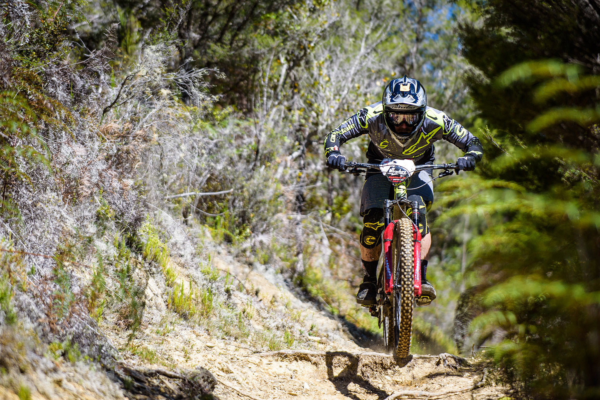 Jerome Clementz Must be one of the greatest ever mountain bike racers. there are very few races that he has entered and never won, NZ enduro took three tries, but he got it this year, beating Sam Shaw by a commanding one minute 51 seconds.
