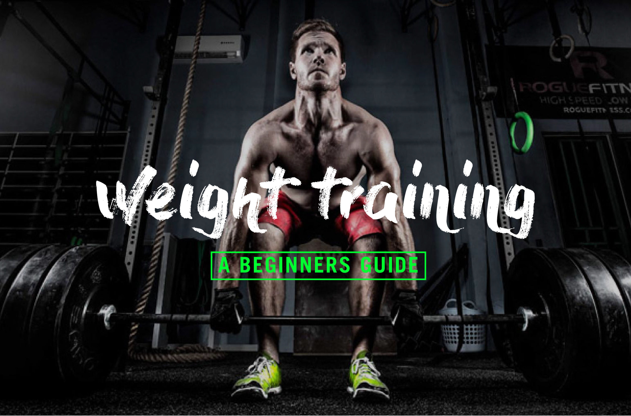 A beginners guide to weight training.