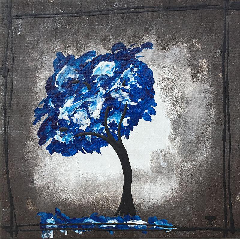 Blue Tree by Jesse K.