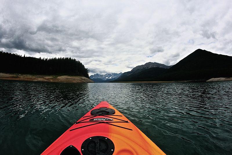 Kananaskis Kayaking by Kody K.