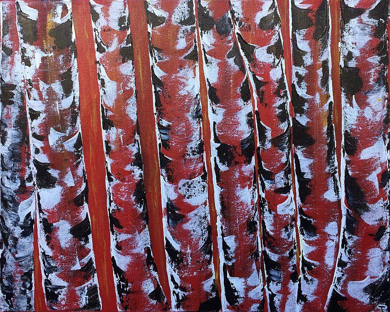 Red Birch by Jesse K.