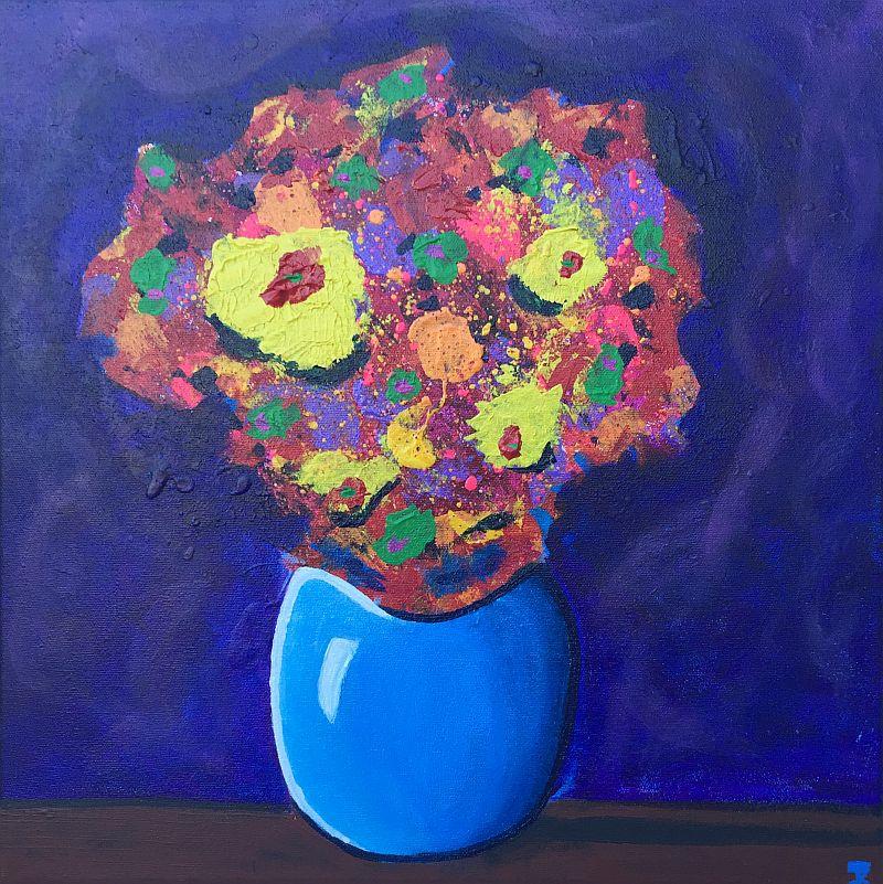 Funkadellic Flowers by Jesse K.