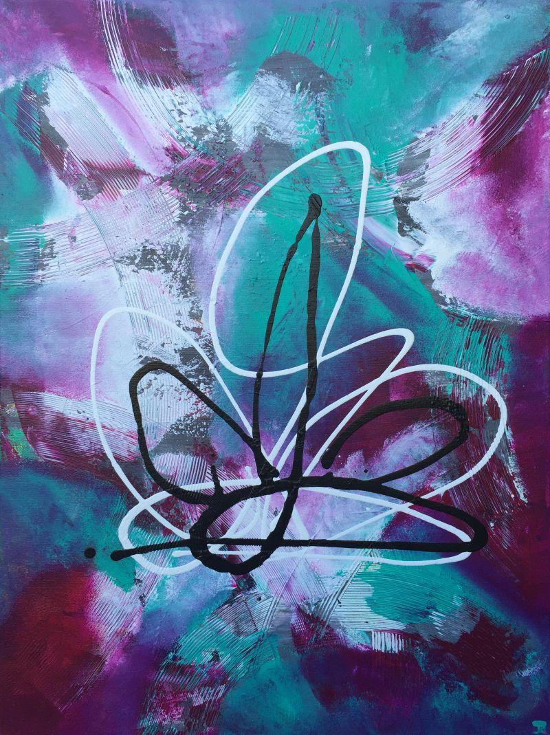 Pink Grunge by Jesse K.