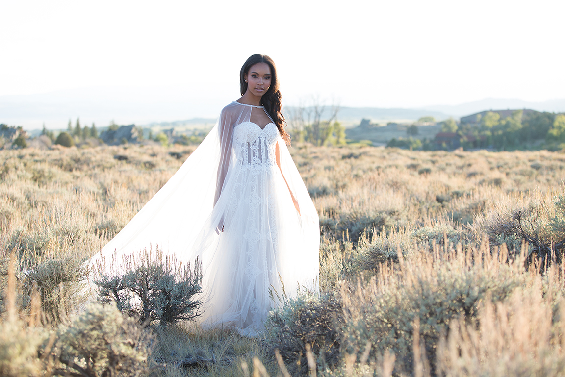 Allure Bridals - Allure Bridals is all about the details, beading, floral appliqués, dramatic backs, and perfect draping. Every gown features details to set it apart.