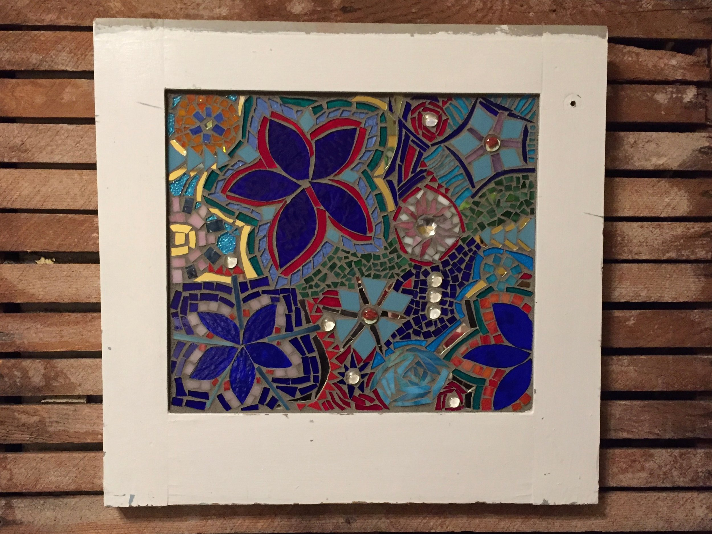 Cabinet Mosaic with Amy Moss hung.jpg