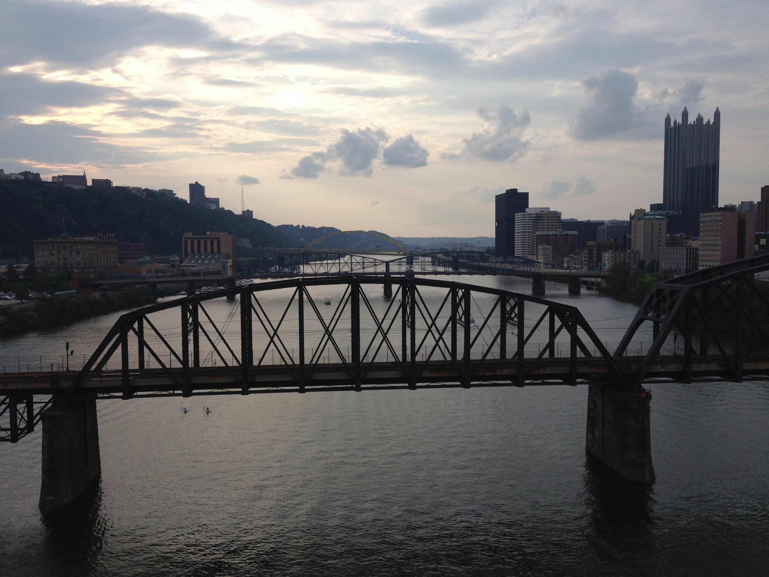 8/30/15 view from Liberty Bridge