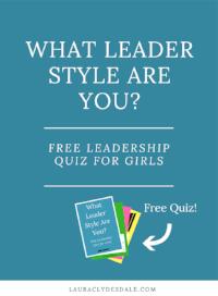 Girls Leadership Style Free Quiz