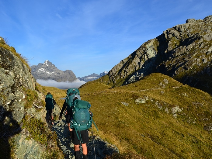 New zealand - Trek not one, but two of New Zealand's most pristine and spectacular tracks. In just over a week we will cover 100km on both the Routeburn & Kepler Tracks. You'll be rewarded with spectacular vistas over vast mountain ranges and valleys.