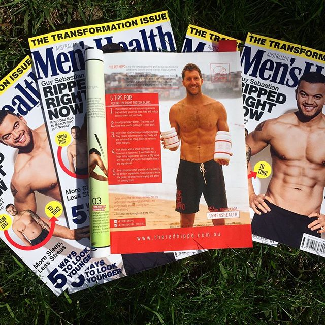 Step aside Guy Sebastian... page 31 is where it's at! But legit, Guy is looking shredded 🙌🏼 @menshealthau #truthbombs