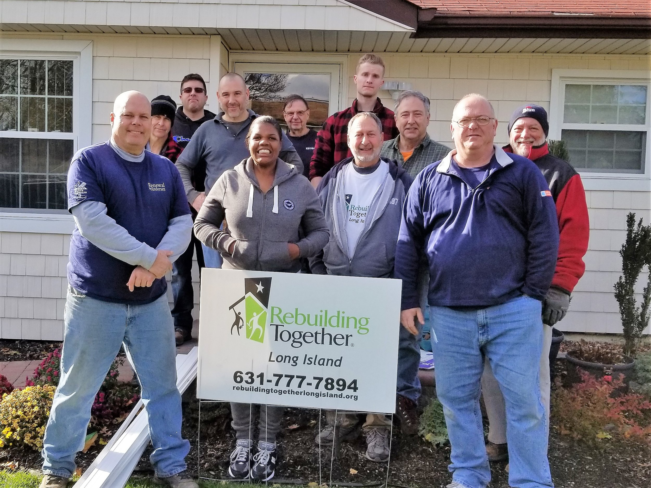 Renewal by Andersen of Long Island - Helps an Army veteran with home repairs and safety modifications!