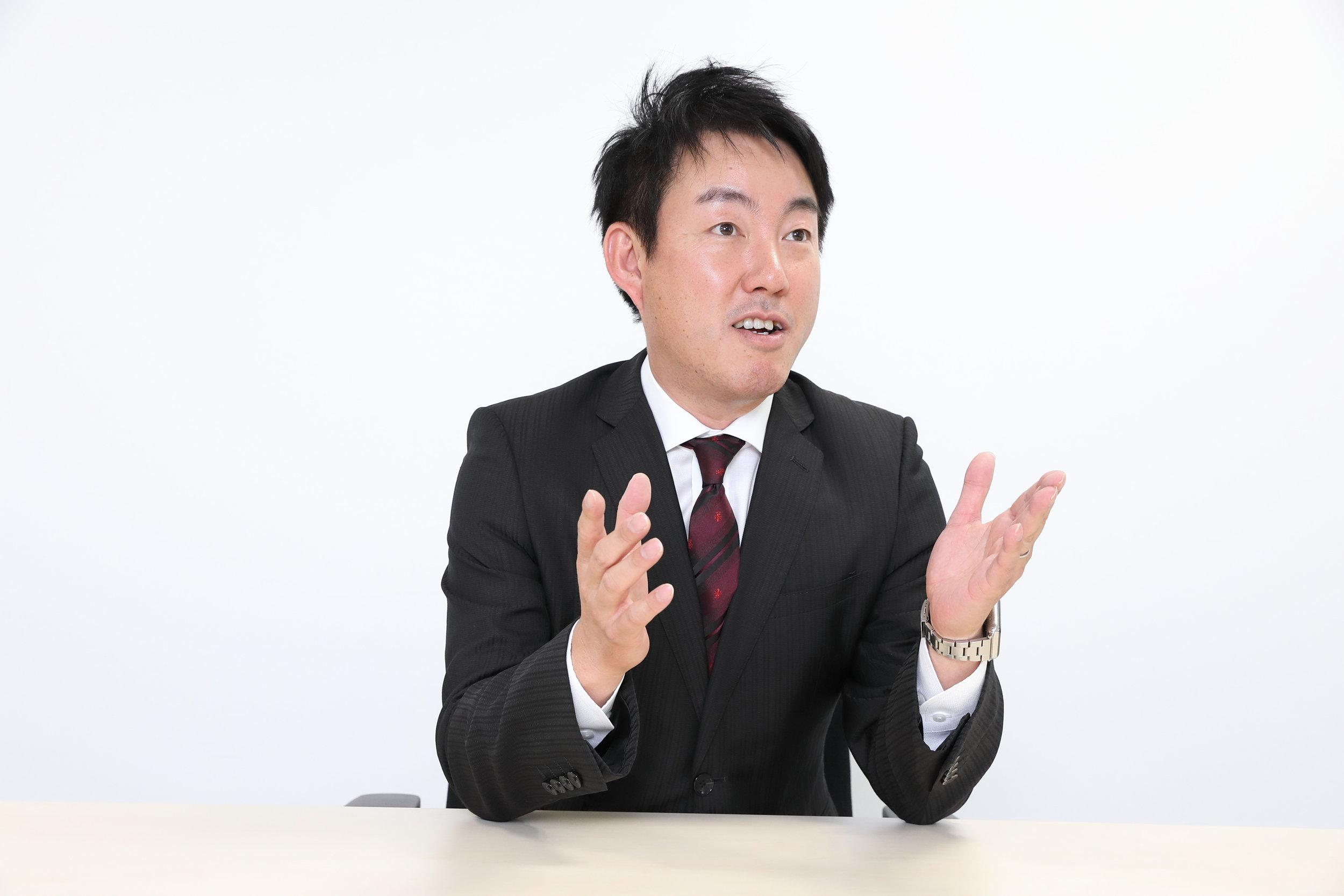 守屋史章 - 代表取締役社長