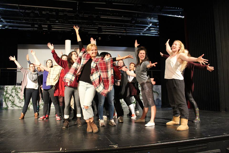 Legally Blonde: The Musical  in rehearsal