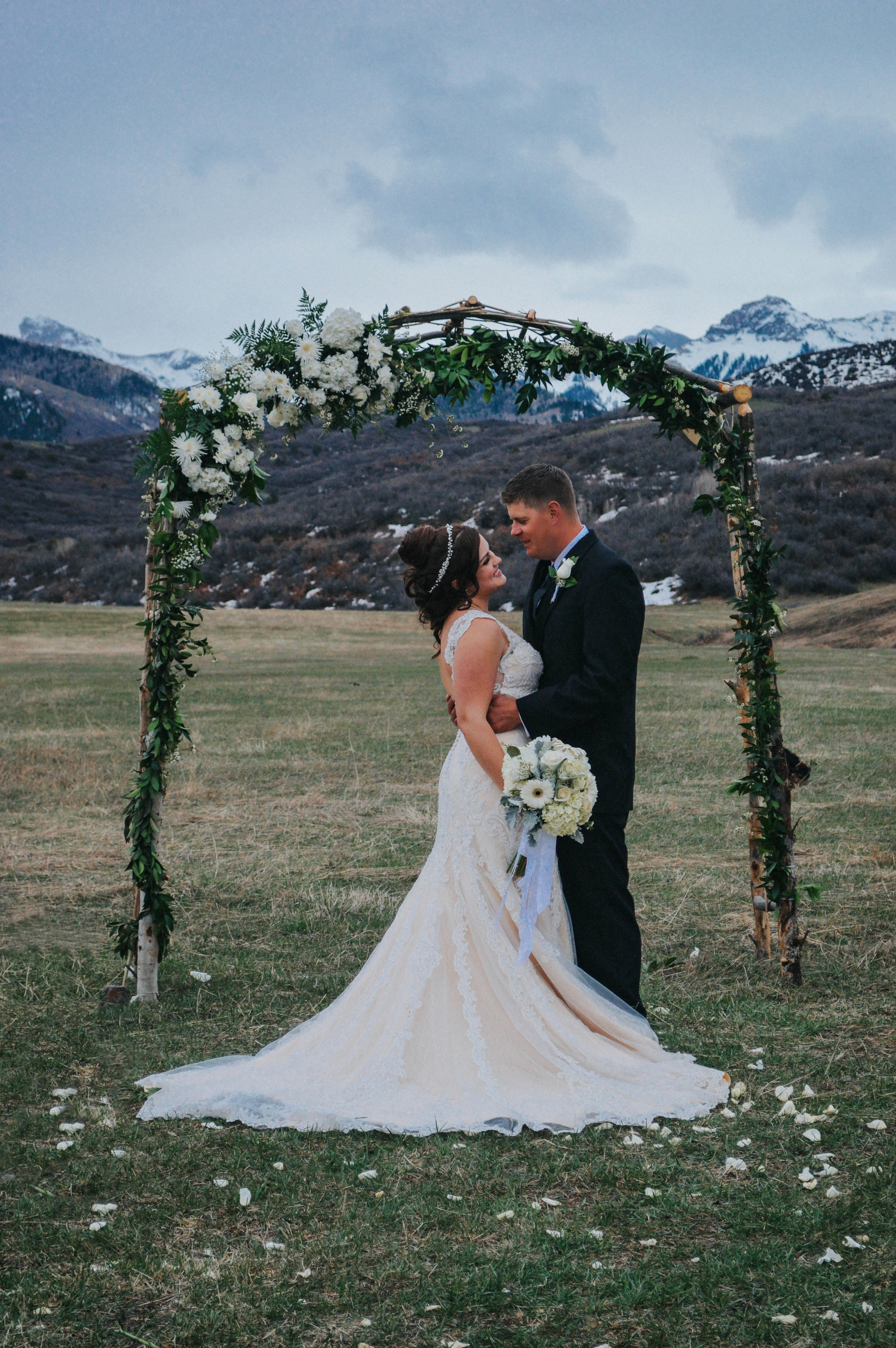 Wedding Arch created by Iversen Custom Creations
