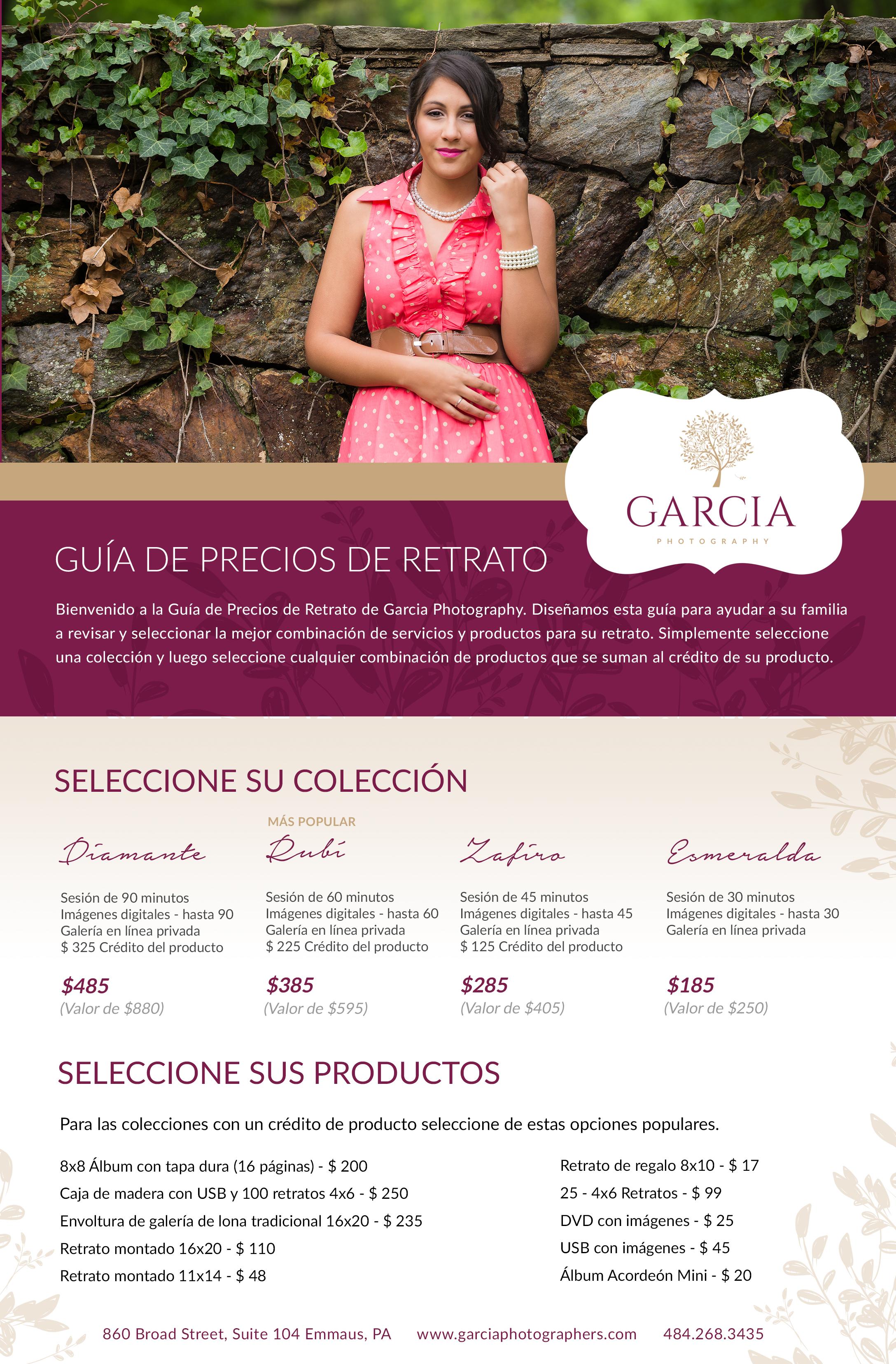 Colecciones de Retratos por Garcia