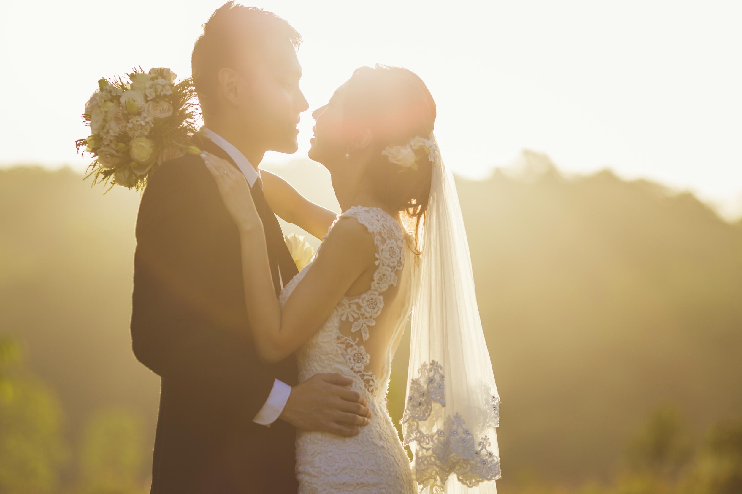 Wedding of Ken and Jieyin.Image taken at Bukit Panjang Park