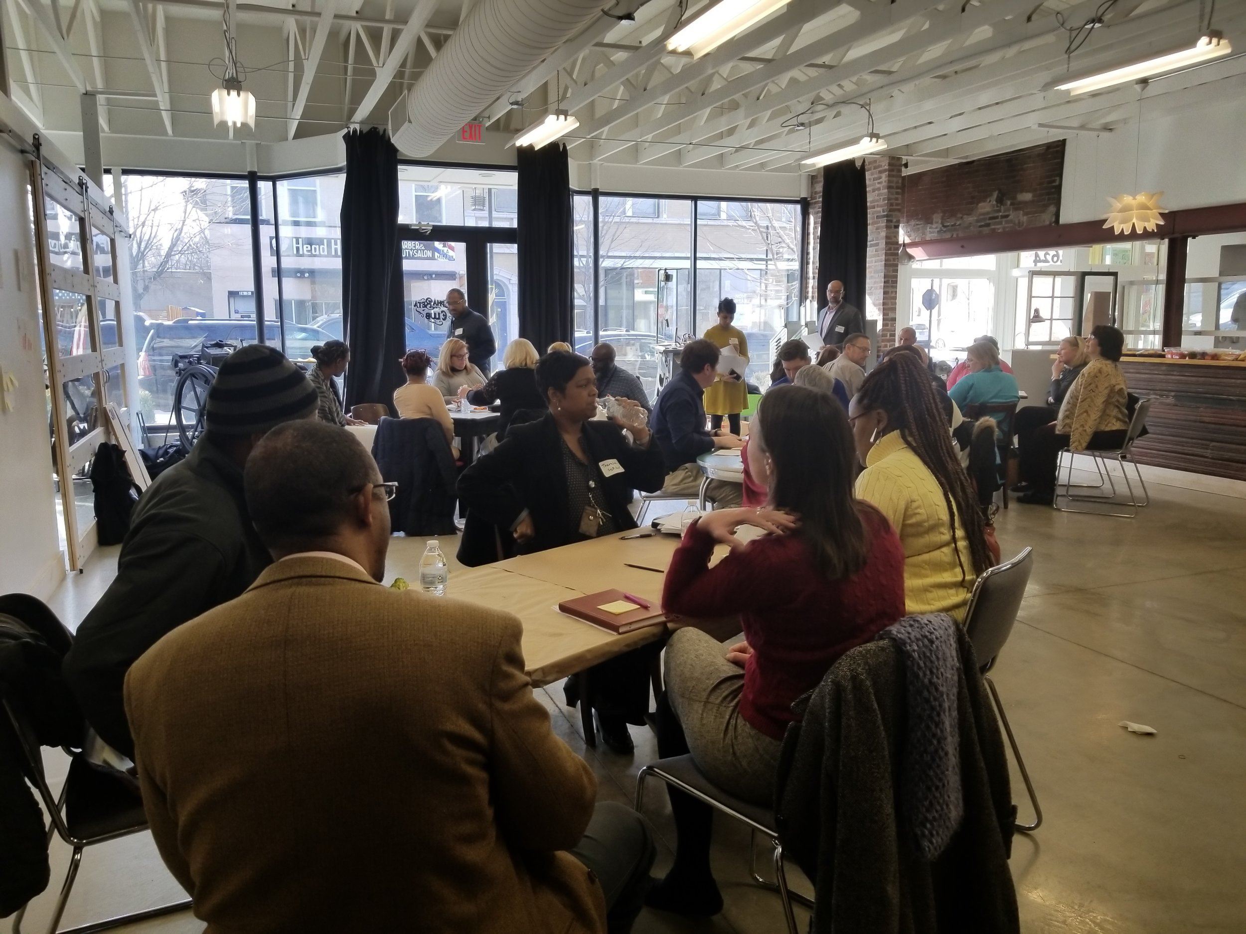 Partners for Preservation Square - Our team of organizations, service providers and neighborhood institutions meet regularly to ensure change in the Near North Side touches everyone.