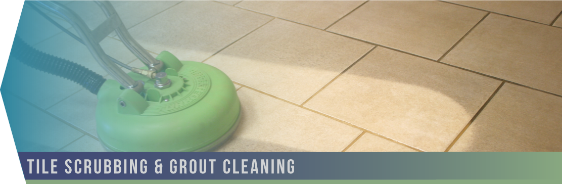 Tile Scrubbing & Grout Cleaning   Our teams can suggest and employ the proper techniques to rescue and restore a range of flooring: from unsealed concrete to glazed ceramic tile, rare sandstone to vinyl tile.