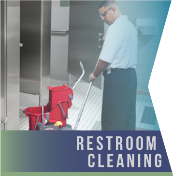 Restroom Cleaning   Restrooms are possibly the most high-profile spot in your building where odors, grime and bacteria need controlling. We know you'll agree that the restroom must be clean, right down to cleaning the grout.