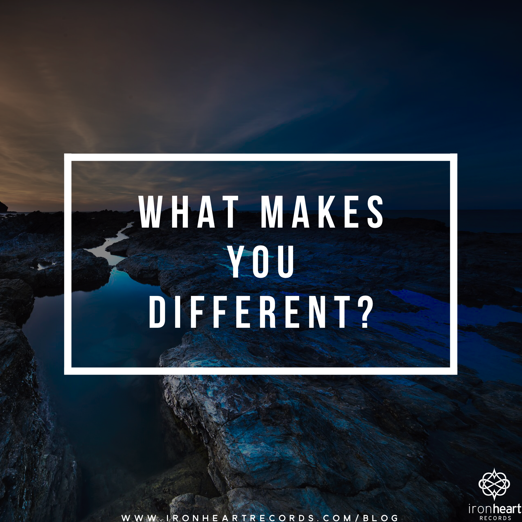 What makes you different?  Taking the time to answer this question is one of the most important exercises that you can do as an artist.  Here are ten questions to get your creative juices flowing:  1) Where do you come from?  2) What lights you up?   3) What is it about you that makes your story compelling?  4) What do you stand for?  5) What do you stand against?  6) What made you decide to become an artist?  7) What struggles have you had to overcome that define who you are?  8) What struggles are you currently going through?  9) Was there a point at which you were almost ready to give up?  10) What message would you like to impart upon the world?