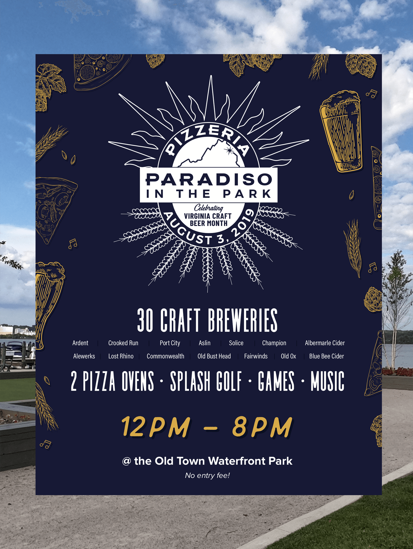 Paradiso in the Park Beer Festival – Old Town Alexandria