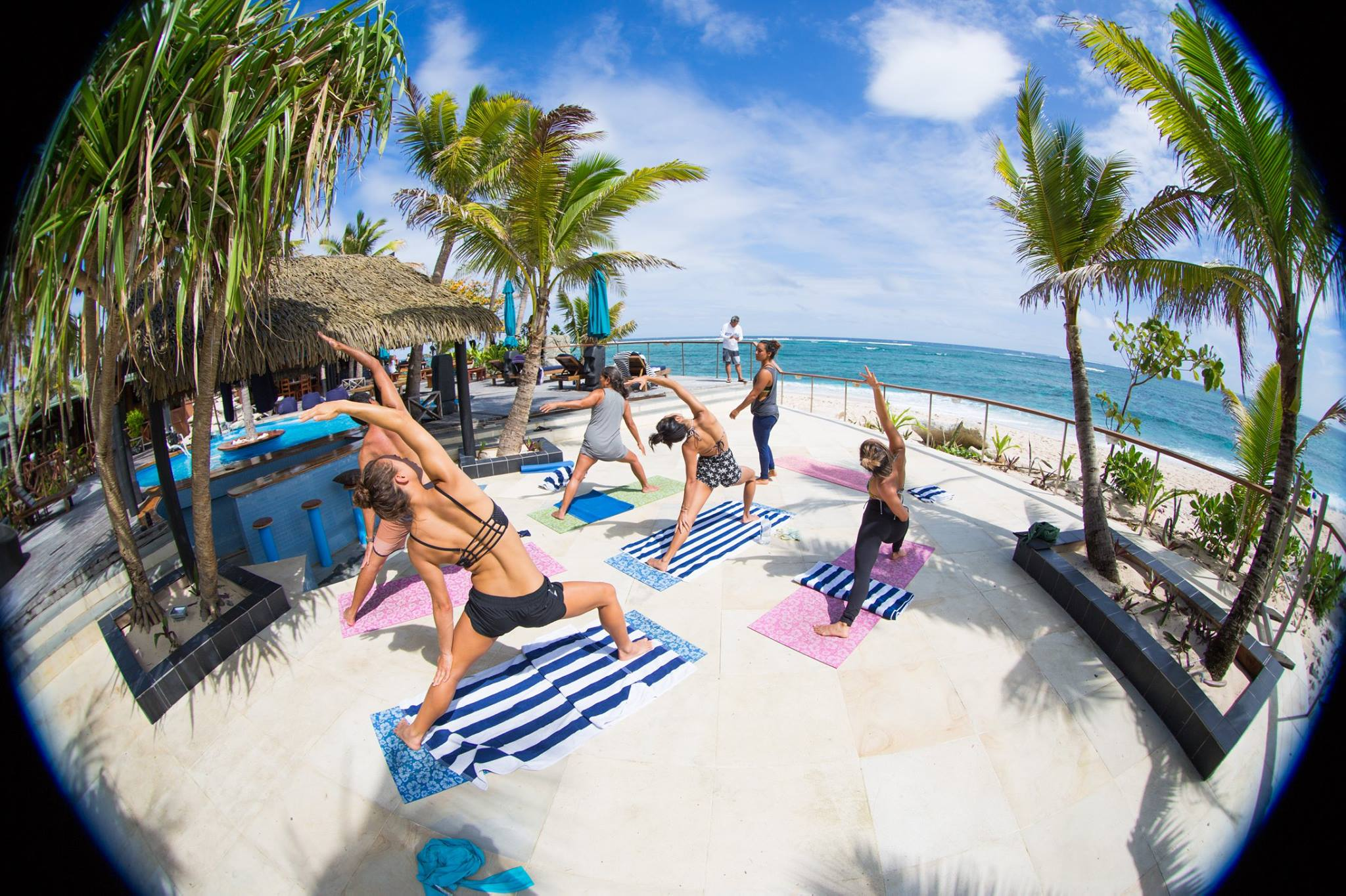 FIJI yoga & surfing - July 29th - August 5th, 2017August 5th - August 12th, 2017Ride the waves on Namotu Island Resort! Daily yoga, snorkel in crystal blue waters, chow down on delicious food, party on Kava night and of course surf the best reef breaks on this planet!