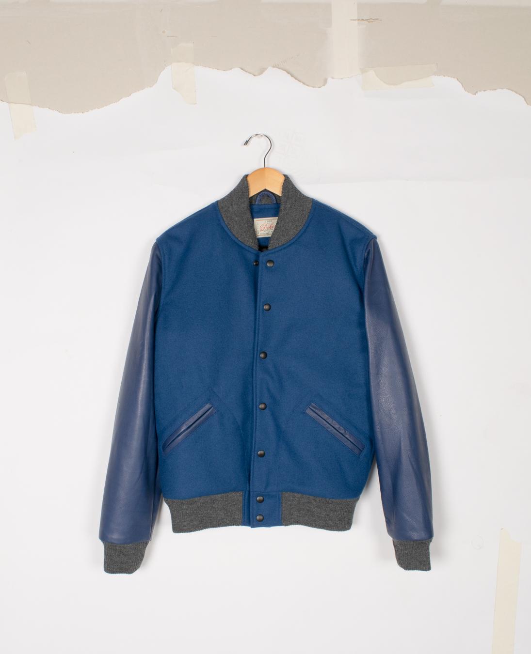Varsity Jacket - Cobalt/Cobalt - $285/$575