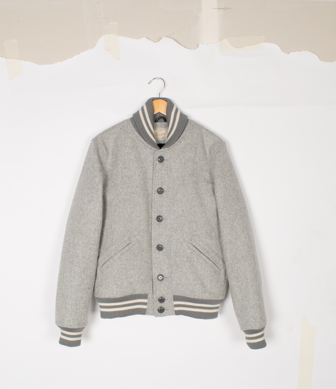 Club Jacket - Oxford Grey - $475
